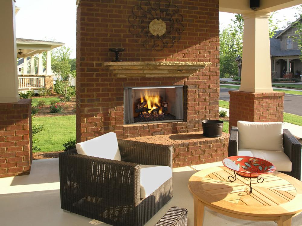"Heatilator Villawood 36"" Outdoor Wood Fireplace"