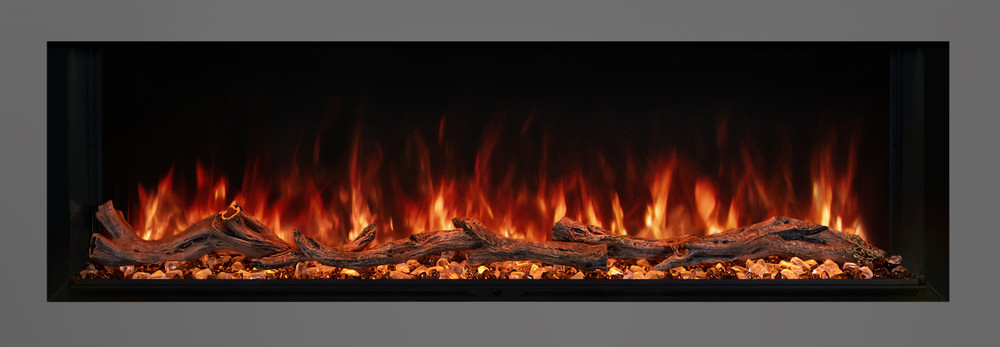 """Modern Flames 56"""" Landscape Pro Multi-Sided Built-In Electric Fireplace"""
