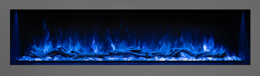 """Modern Flames 68"""" Landscape Pro Multi-Sided Built-In Electric Fireplace"""