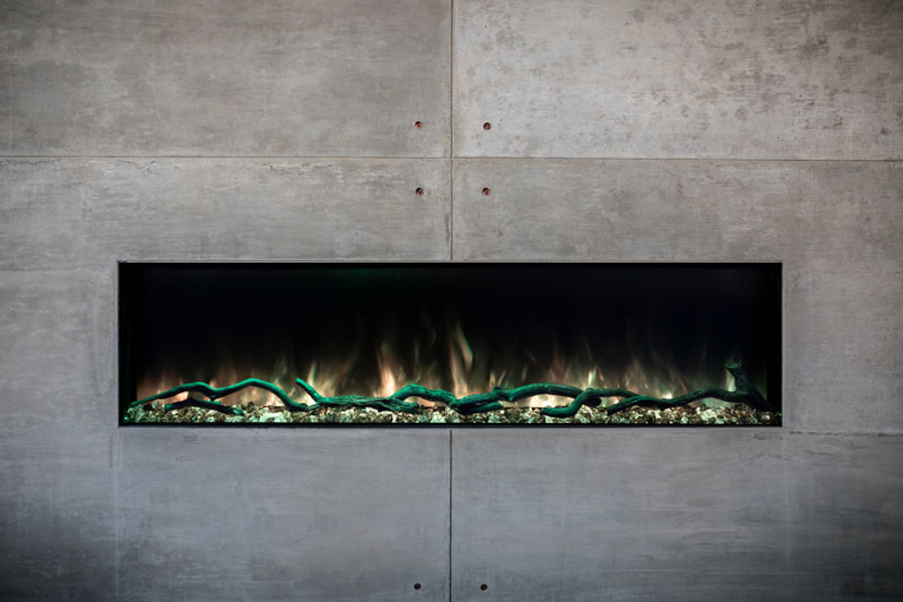 "Modern Flames 44"" Landscape Pro Slim Built-in Electric Fireplace"