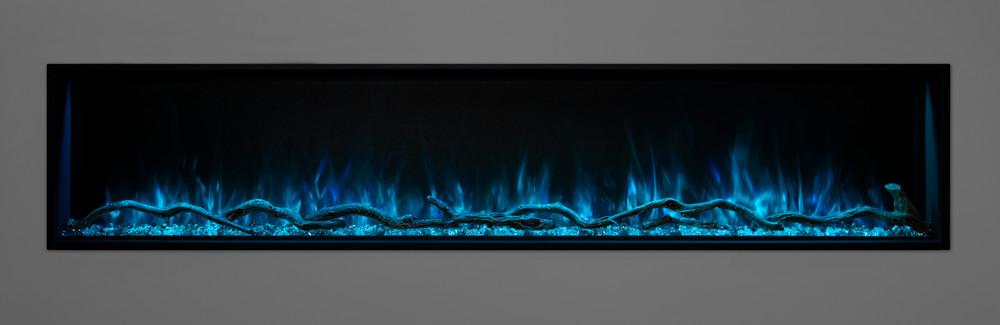 "Modern Flames 68"" Landscape Pro Slim Built-In Electric Fireplace"