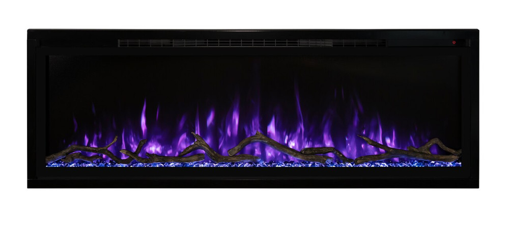 "Modern Flames 60"" Spectrum Slim-Line Wall Hanging Electric Fireplace"