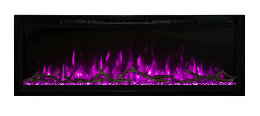 "Modern Flames 74"" Spectrum Slim-Line Wall Hanging Electric Fireplace"