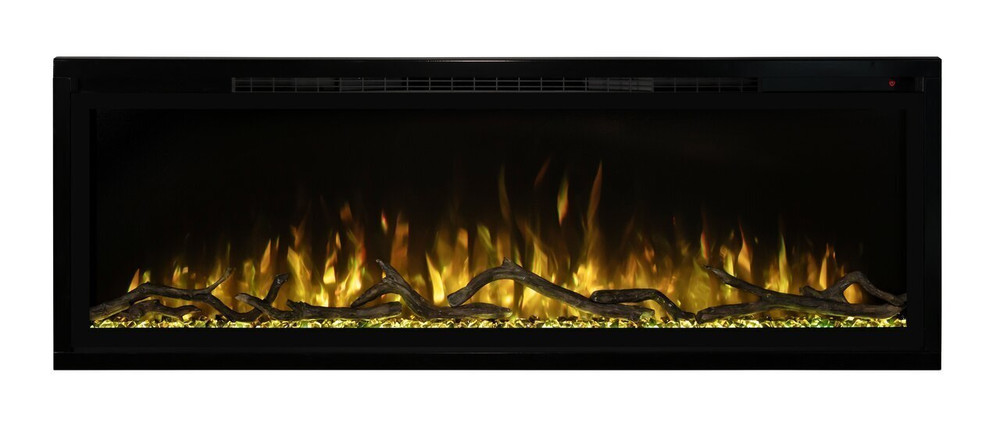 "Modern Flames 100"" Spectrum Slim-Line Wall Hanging Electric Fireplace"