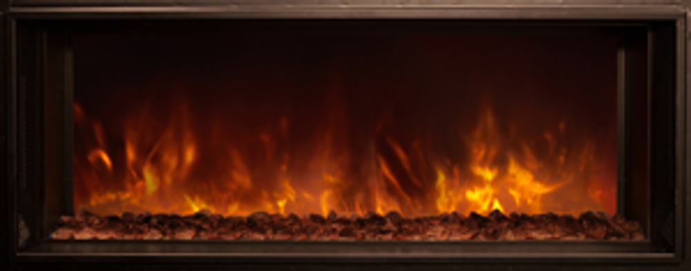 """Modern Flames 40"""" Landscape Fullview 2 Built-In Electric Fireplace"""