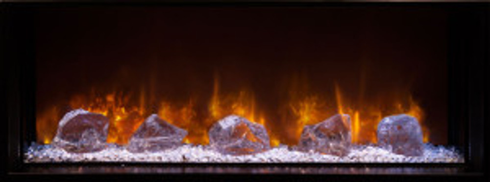 """Modern Flames 60"""" Landscape Fullview 2 Built-In Electric Fireplace"""