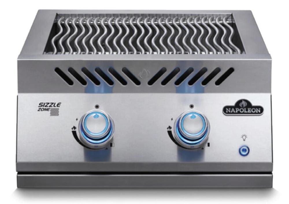 "Napoleon 700 Series 18"" Dual Range Top Burner in Natural Gas"