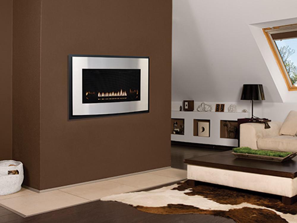 American Hearth Medium Loft Direct-Vent Gas Fireplace