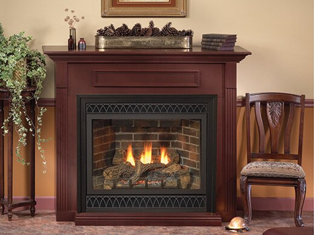 """American Hearth Madison Deluxe 36"""" Direct-Vent Gas Fireplace"""