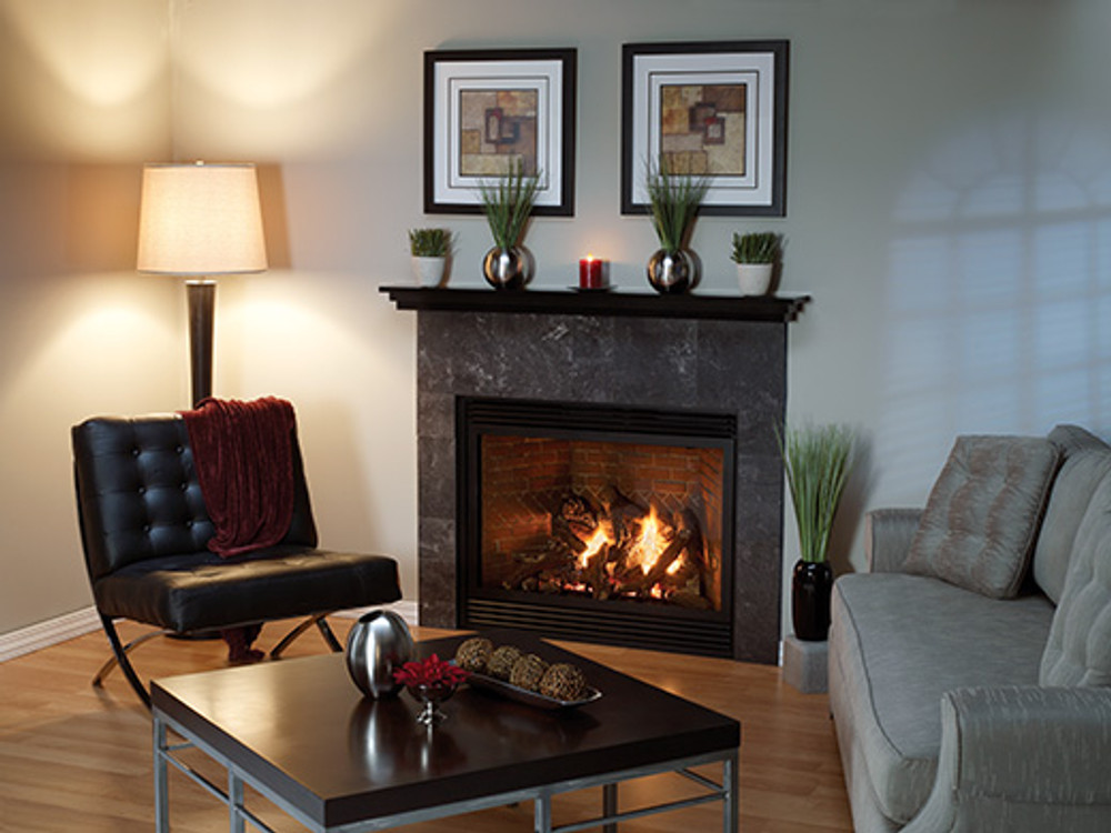 """American Hearth Madison Luxury 36"""" Direct-Vent Gas Fireplace"""