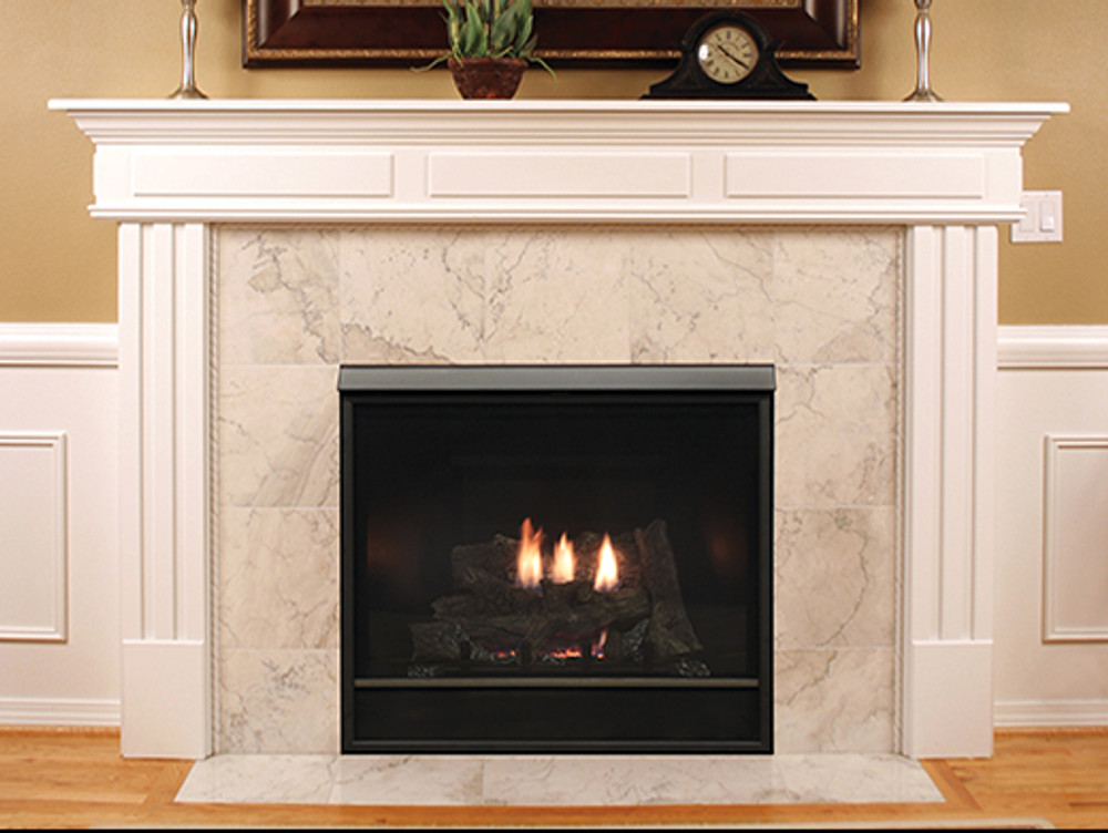 """American Hearth Madison Clean-Face Deluxe 32"""" Gas Fireplace"""