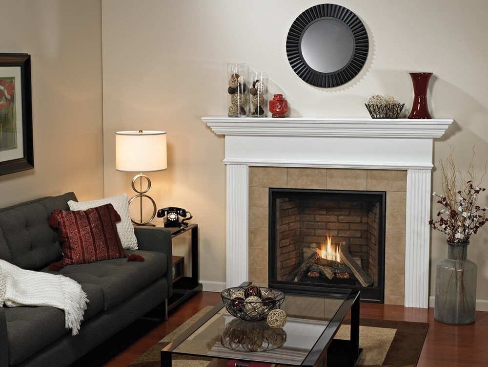 """American Hearth Madison Clean-Face Premium 36"""" Gas Fireplace"""