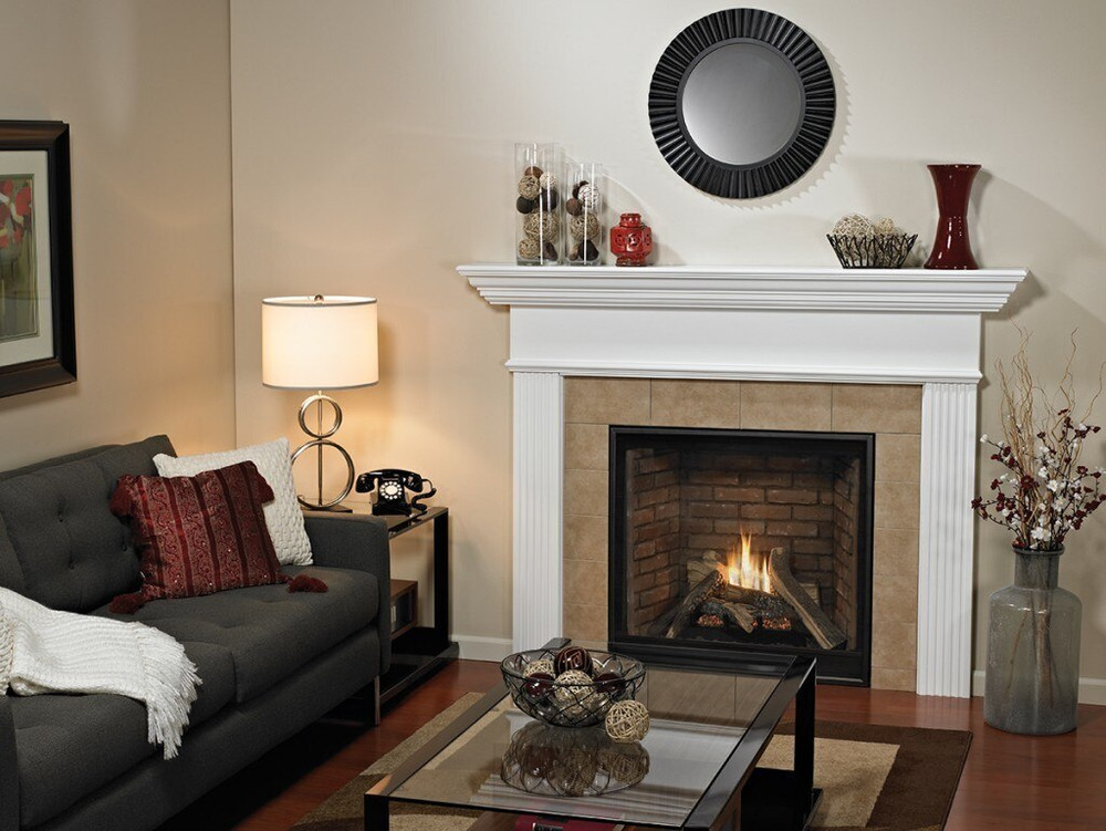 """American Hearth Madison Clean-Face Premium 42"""" Gas Fireplace"""