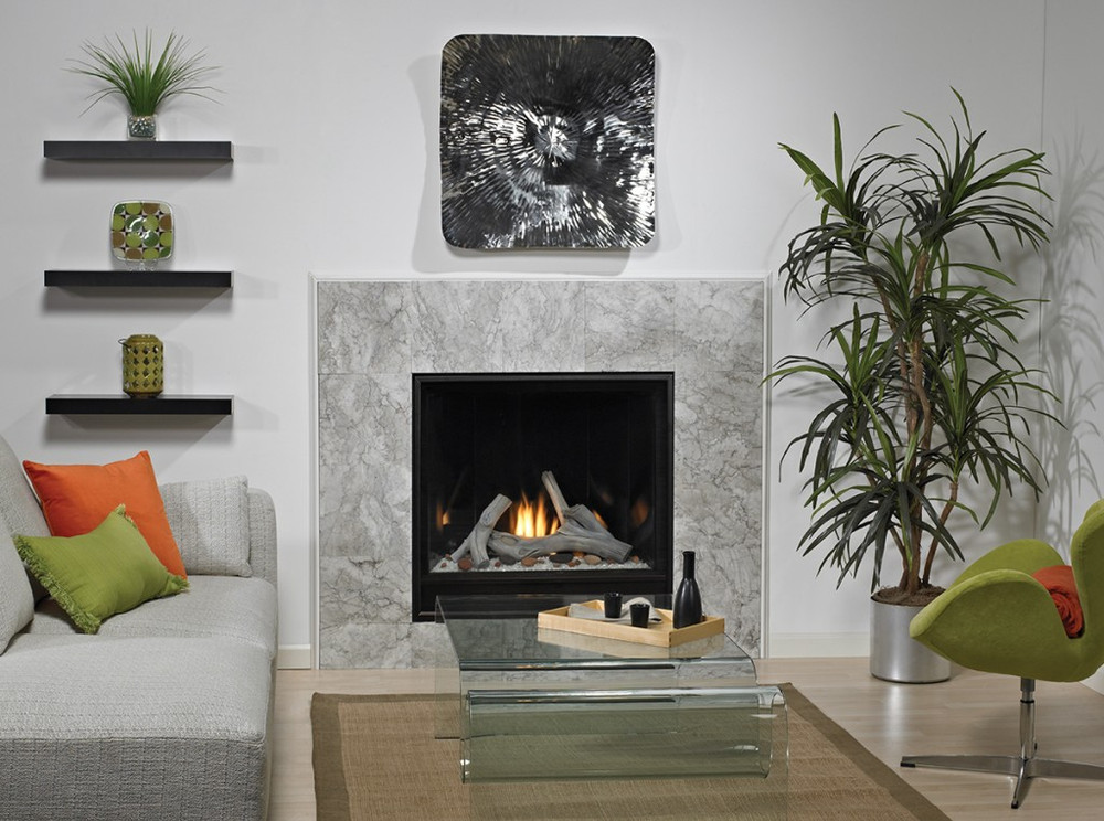 """American Hearth Madison Clean-Face Contemporary Premium 32"""" Gas Fireplace"""