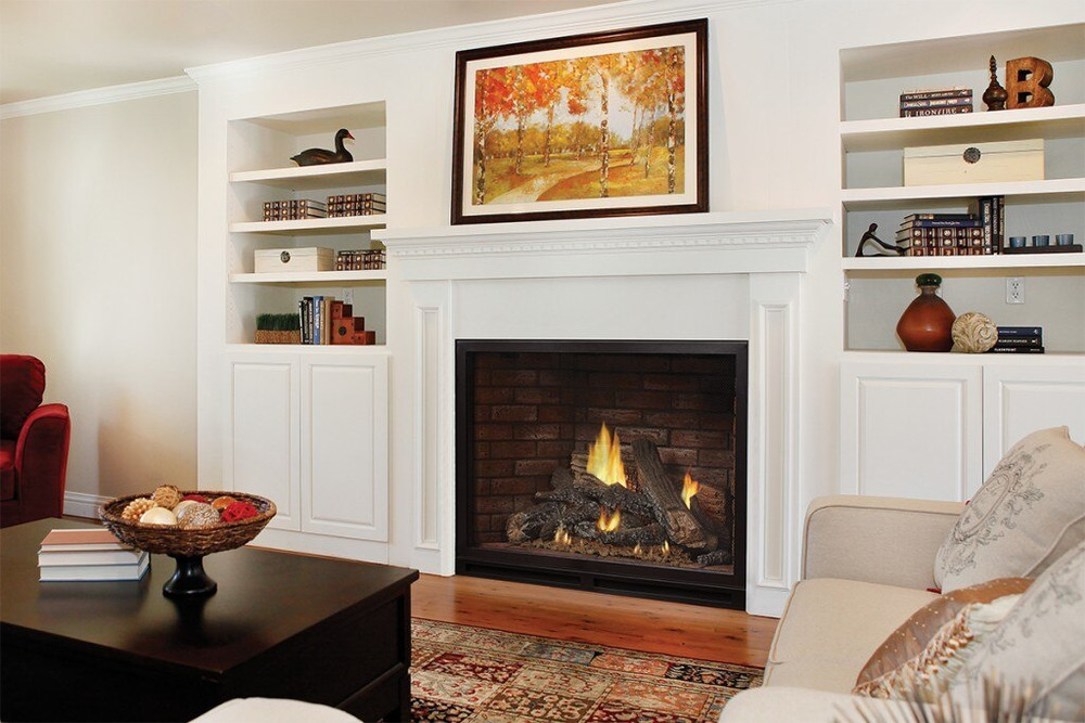 """American Hearth Madison Clean-Face Luxury 42"""" Gas Fireplace"""