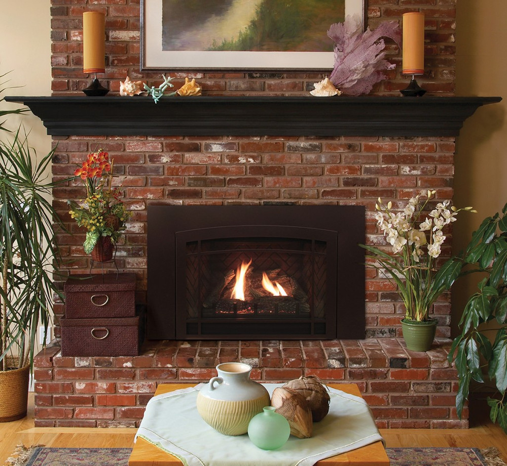 American Hearth Small Franklin Traditional  Gas Insert