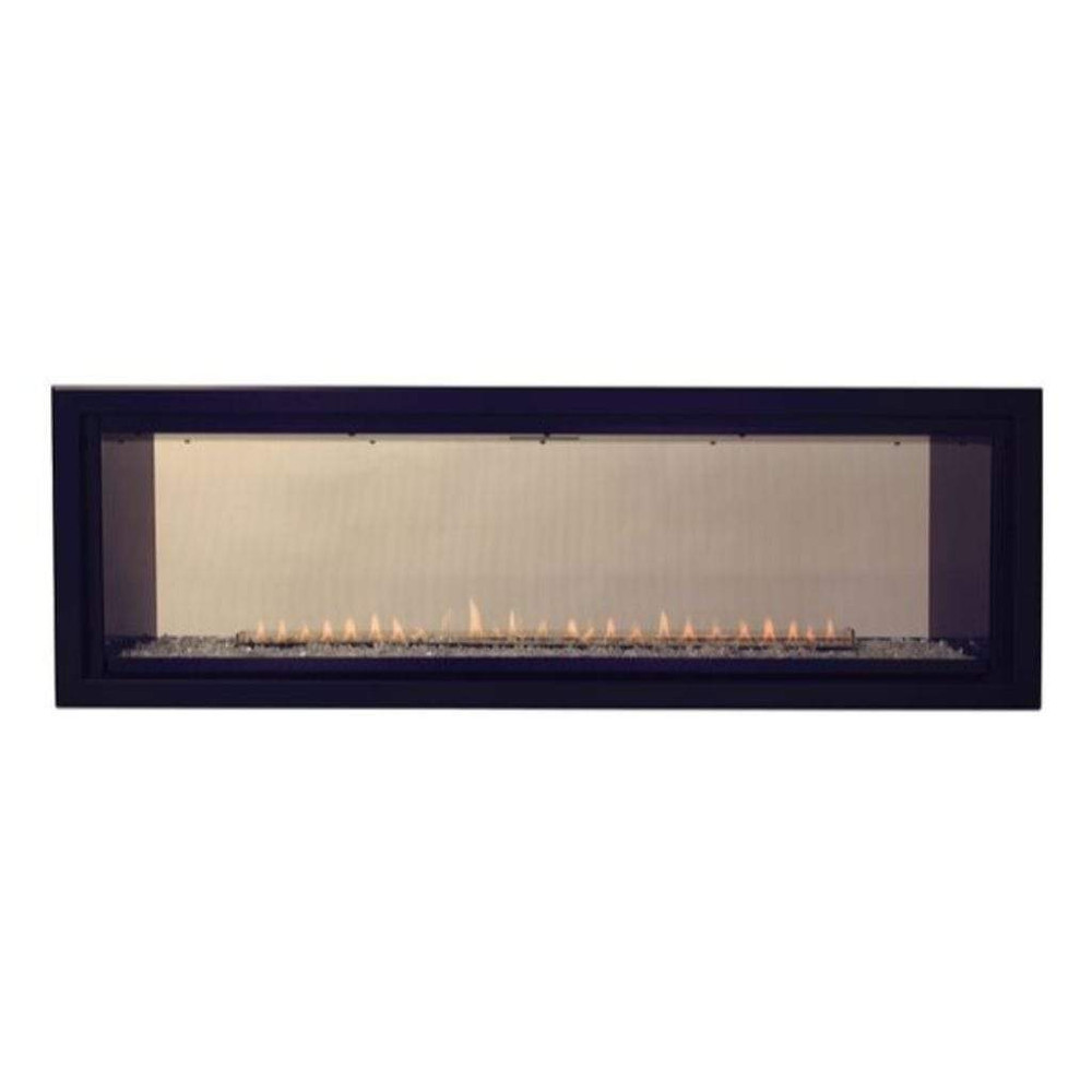 """American Hearth Boulevard Linear 48"""" See-Through Vent-Free Fireplace"""