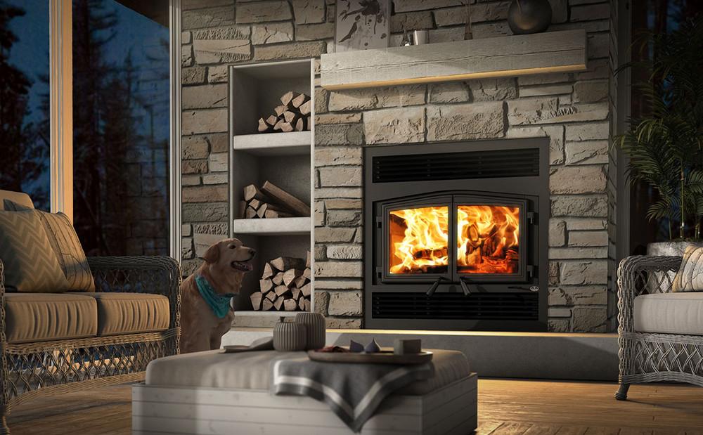 STRATFORD II Wood Fireplace