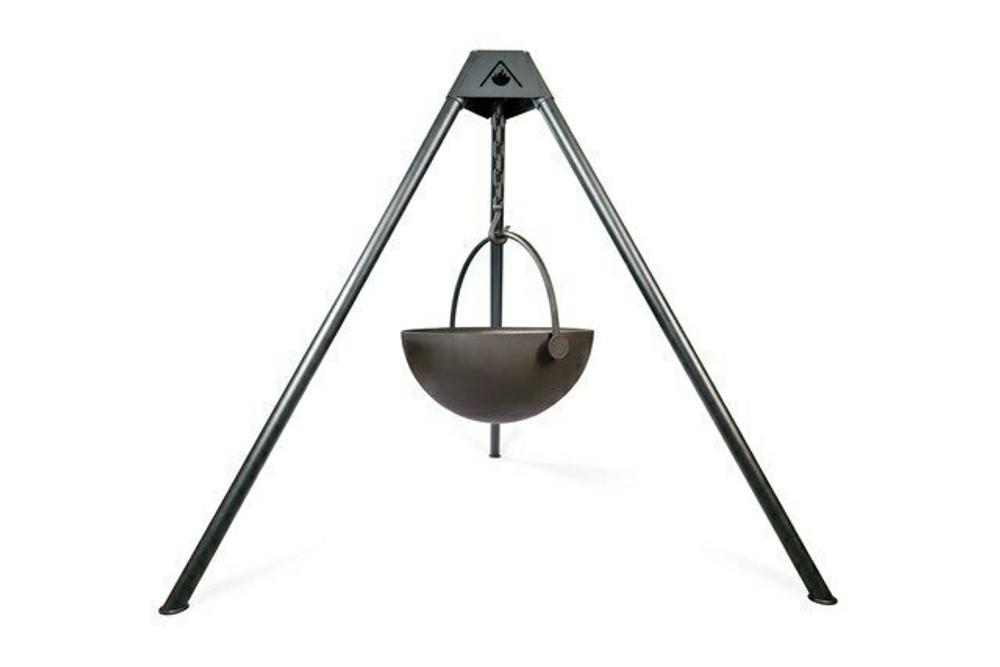"Cowboy Cauldron ""Ranch Boss"" 42-Inch Diameter Steel Cauldron Fire Pit"