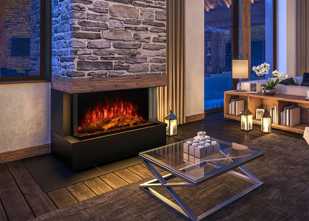 """Modern Flames 42"""" Sedona Pro Multi Built-In Electric Fireplace"""