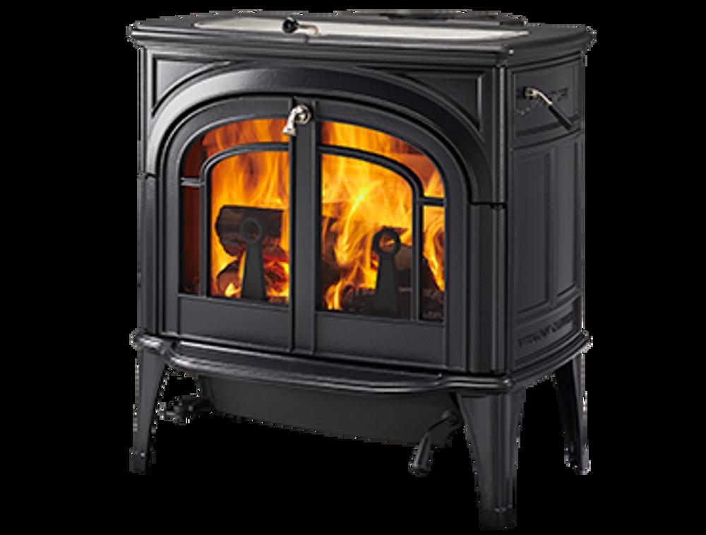 Vermont Casting Dauntless Flex Burn Black Wood Stove