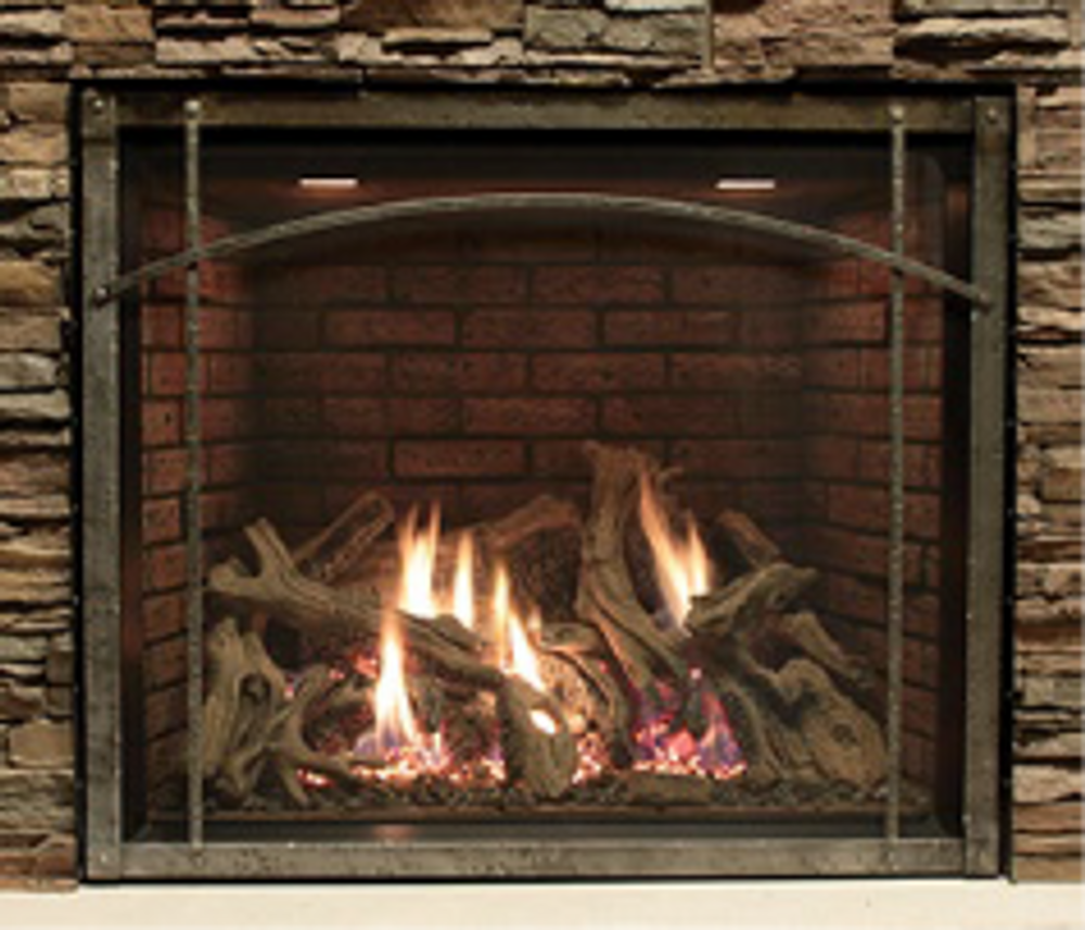 "White Mountain Hearth Rushmore 40"" Clean-Face Gas Fireplace"