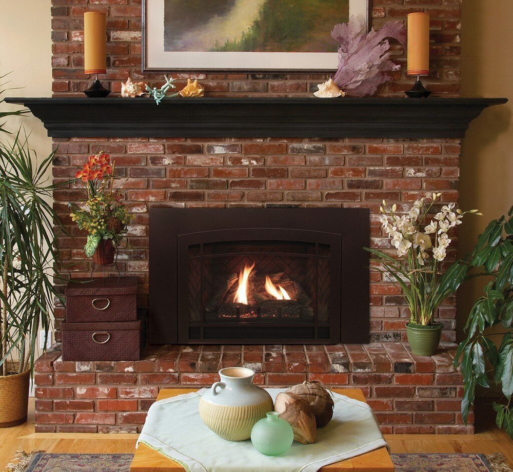 White Mountain Hearth Large Innsbrook Traditional  Gas Insert