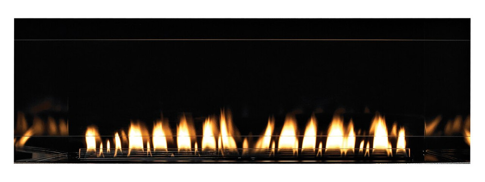 """White Mountain Hearth Boulevard Linear 60"""" See-Through Fireplace"""