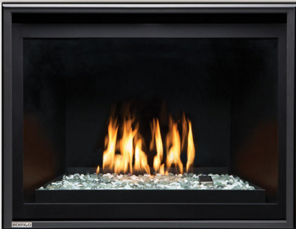 "Montigo Divine 34"" w/ Linear Burner Direct Vent Gas Fireplace"