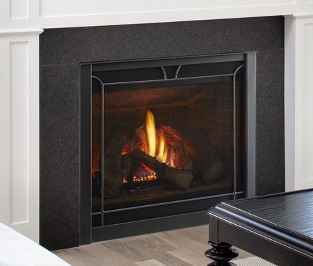 """Heat & Glo 6000CL 36"""" Direct Vent Gas Fireplace"""