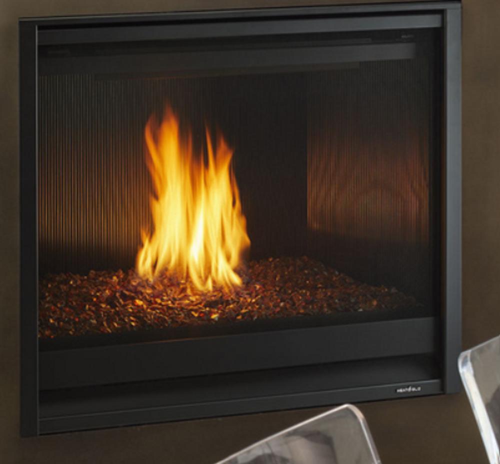 "Heat & Glo 8000C 42"" Modern Direct Vent Gas Fireplace"