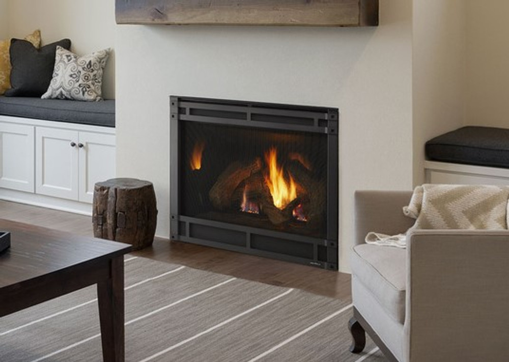 """Heat & Glo 8000CL 42"""" Direct Vent Gas Fireplace"""