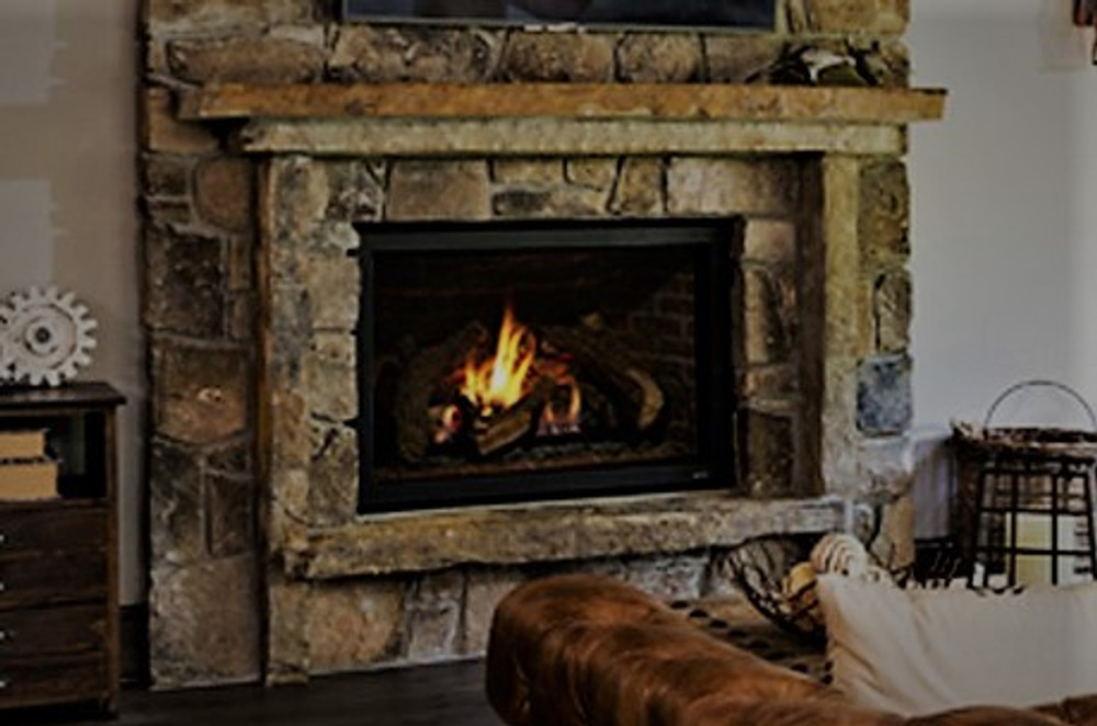 """Heat & Glo 8000CLX 42"""" Direct Vent Gas Fireplace"""