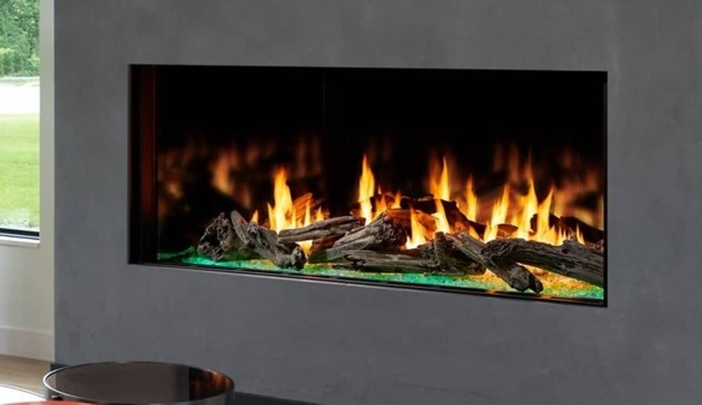 Heat & Glo Foundation Single-Side 6' Gas Fireplace