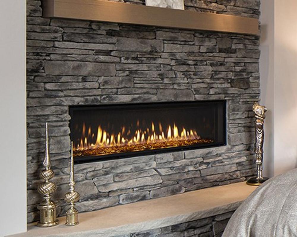 "Heat & Glo Mezzo 36"" Direct Vent Gas Fireplace"