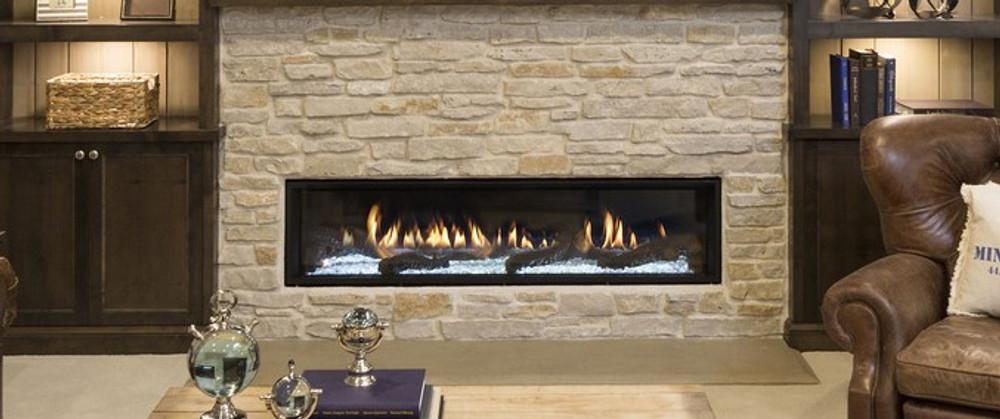 "Heat & Glo Mezzo 48"" Direct Vent Gas Fireplace"
