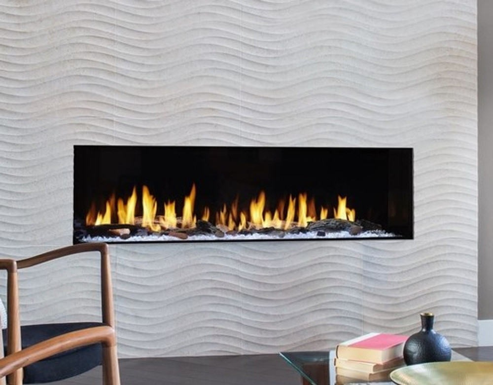 """Heat & Glo Primo 48"""" Direct Vent Gas Fireplace"""