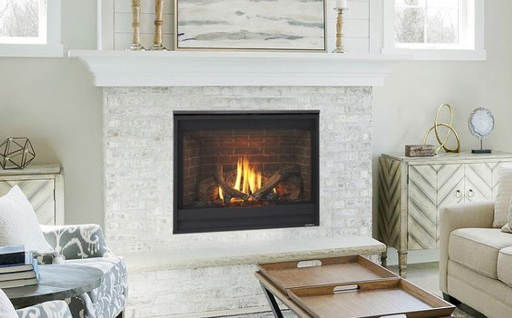 Heat & Glo SlimLine 7 w/ IFT Direct Vent Gas Fireplace