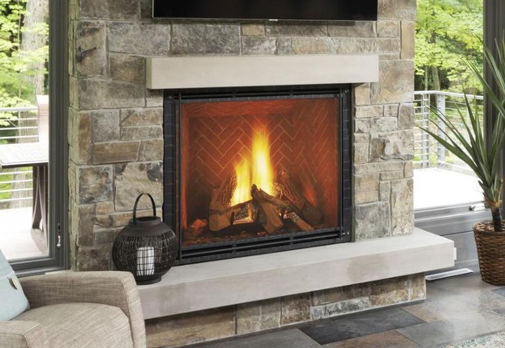 "Heat & Glo TRUE 36"" Direct Vent Gas Fireplace"