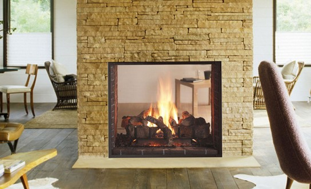 Heat & Glo Escape See-Through Gas Fireplace