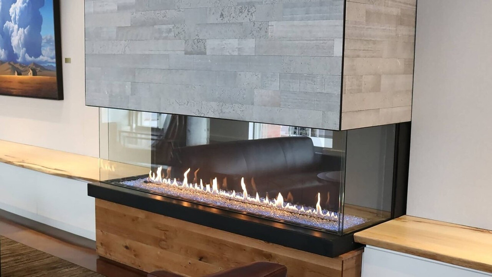 Heat & Glo Foundation Bay 5 Gas Fireplace
