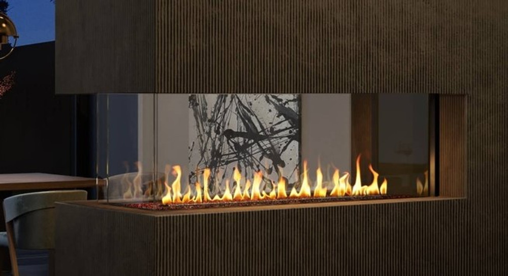 Heat & Glo Foundation Pier 4' Gas Fireplace