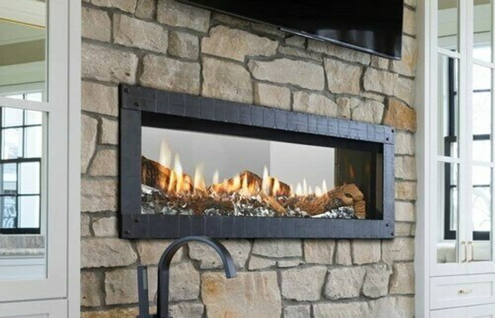 Heat & Glo Mezzo 72 See-Through Gas Fireplace