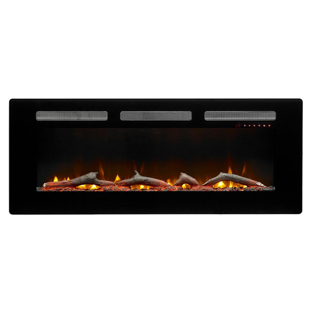"""Dimplex Sierra 48"""" Wall/Built-In Linear Fireplace"""