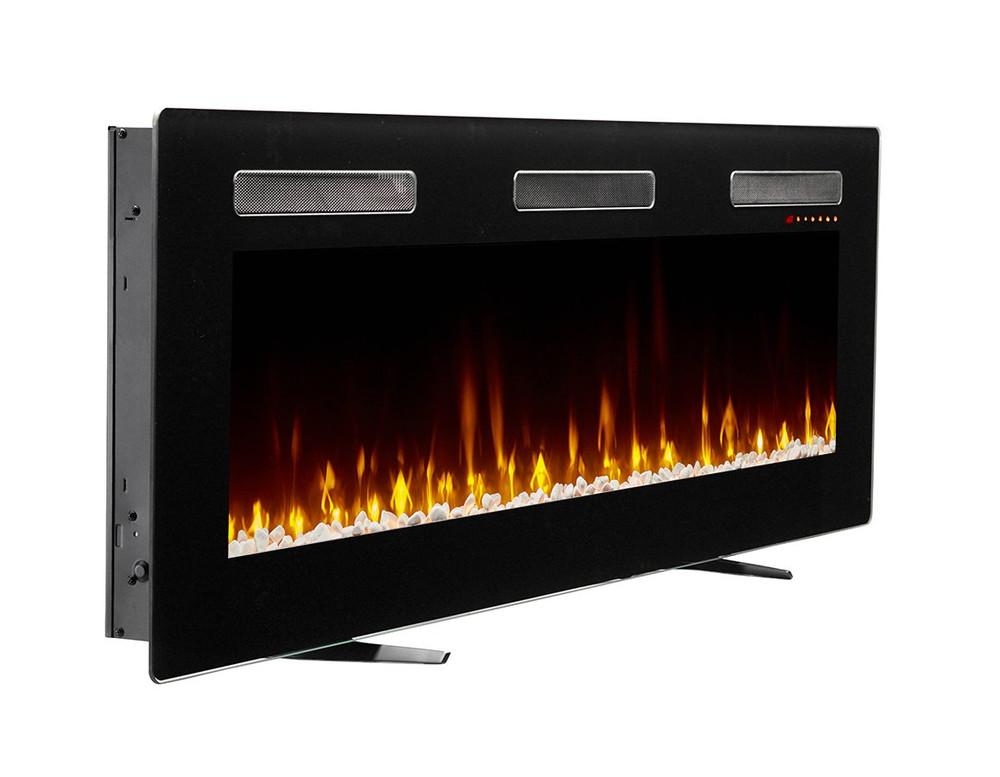 """Dimplex Sierra 60"""" Wall/Built-In Linear Fireplace"""