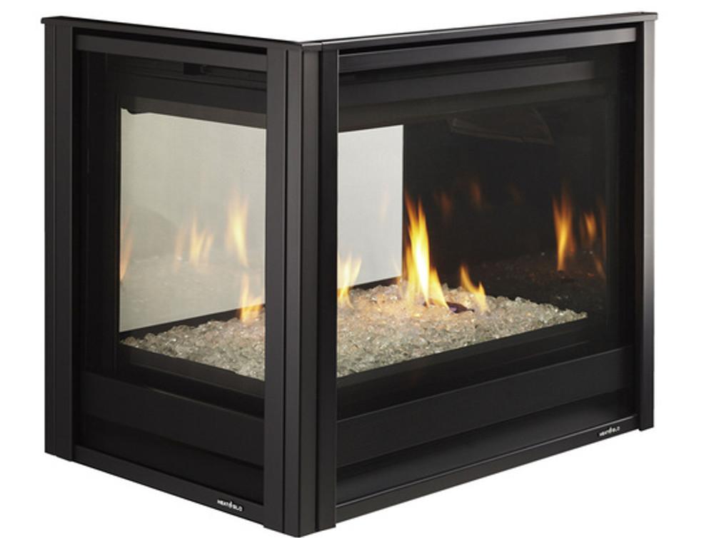 """Heat & Glo Pier 36"""" TR Gas Fireplace"""