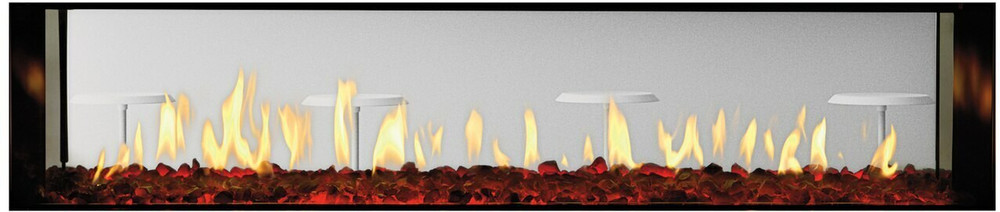 """Heat & Glo PRIMO 72"""" See-Through Gas Fireplace"""