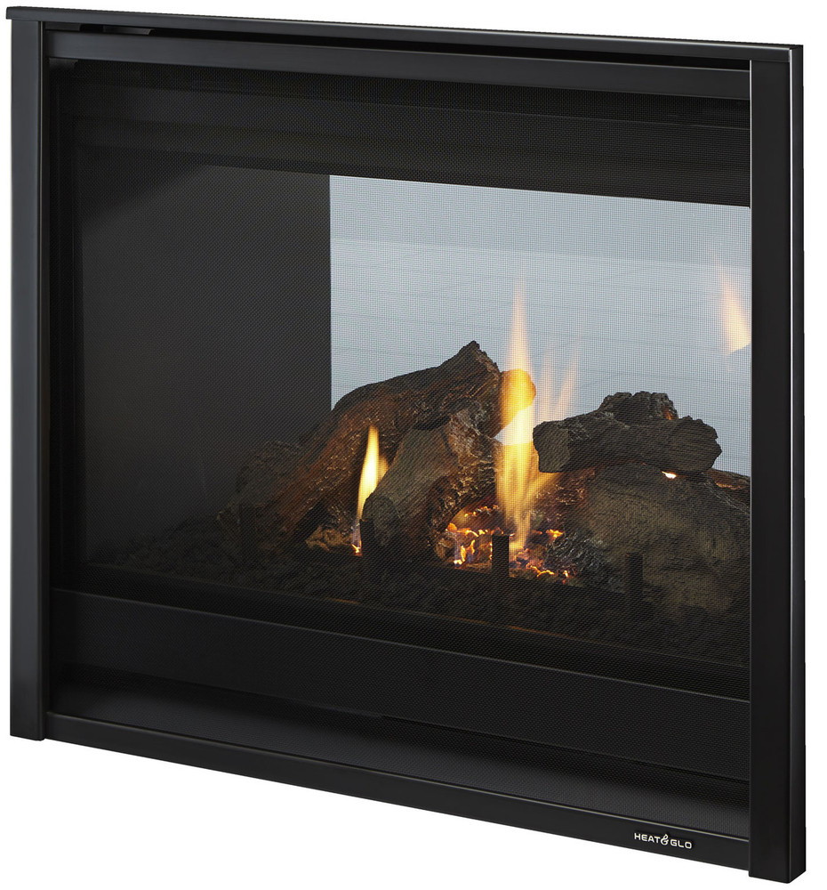 """Heat & Glo See-Through 36"""" TR Gas Fireplace"""