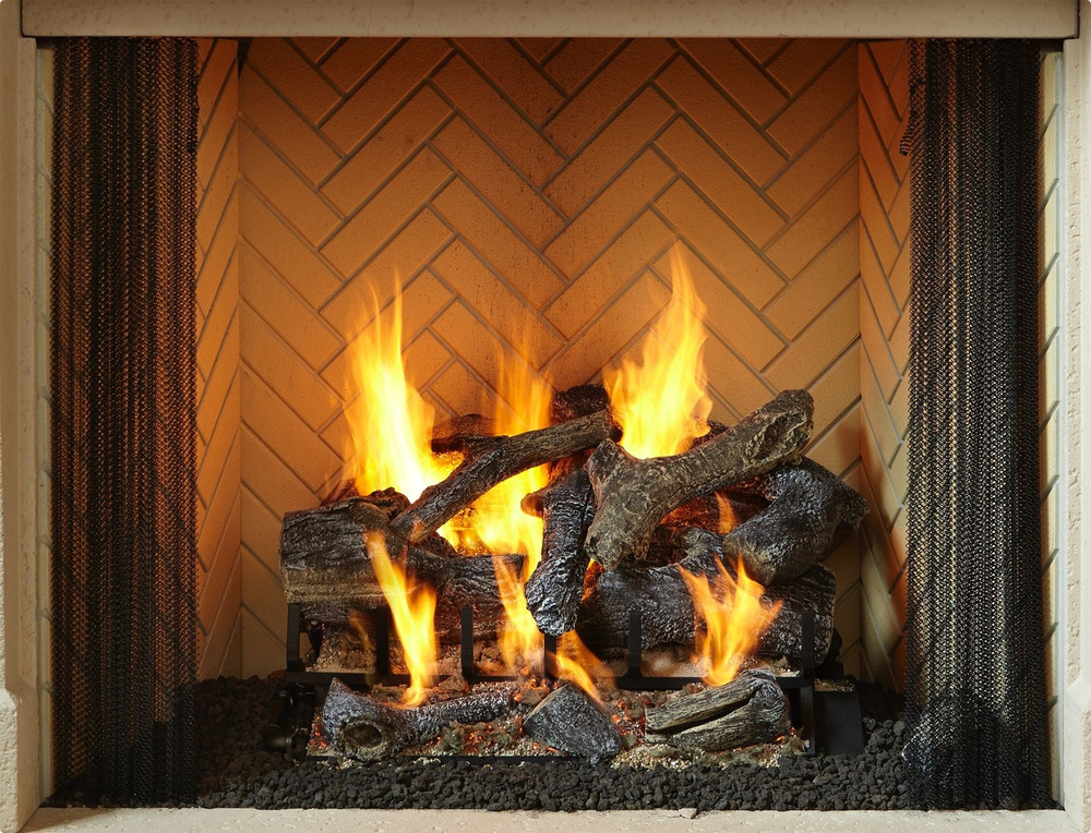 Heat & Glo Rutherford 36 Wood Fireplace
