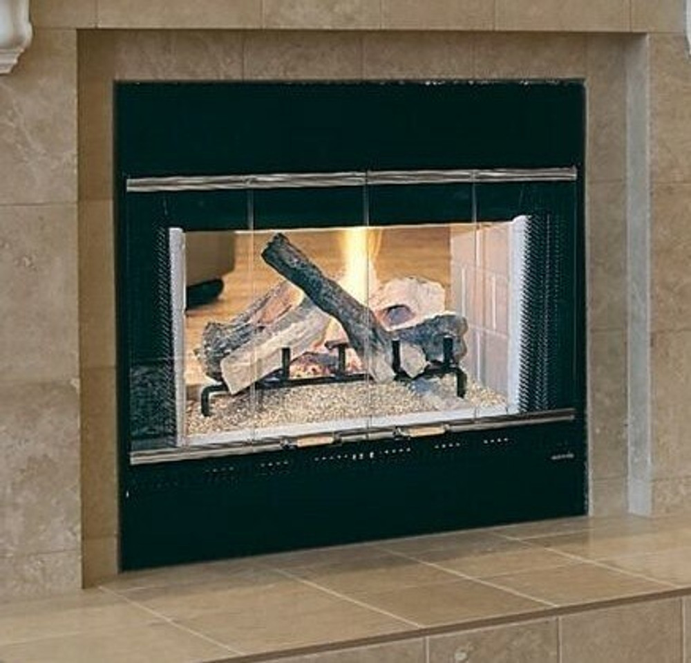 Heat & Glo HST 48 See-Through Wood Fireplace
